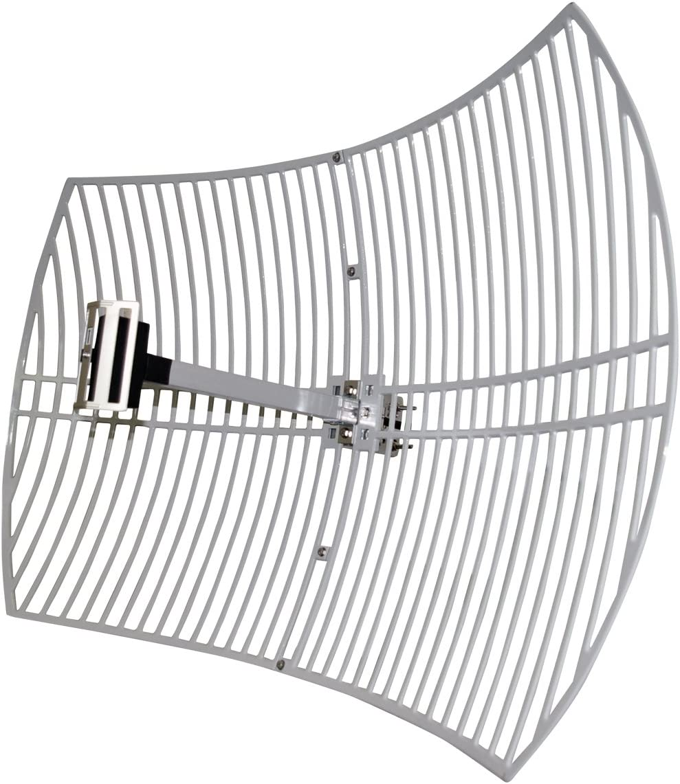 LogiLink WL0097 - Antena (2.4 GHz, para Fuera, Grid Parabolic ...