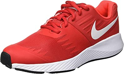 Cuarto relajado Desempleados  Amazon.com: Nike Star Runner (GS) Zapatillas de running para niño,  Universidad Rojo/Blanco/Negro, 7 niños grandes: Shoes