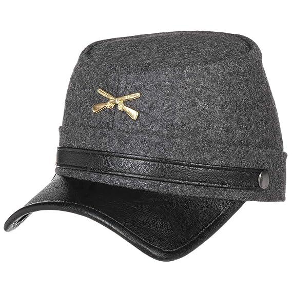Lierys Confederate Flat Newsboy Cap (S (54-55 cm) - grey) 37f7de47f3a