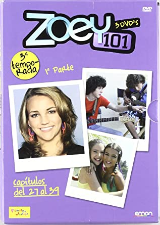 Zoey 101 3ª Temp. 1ª Parte [DVD]