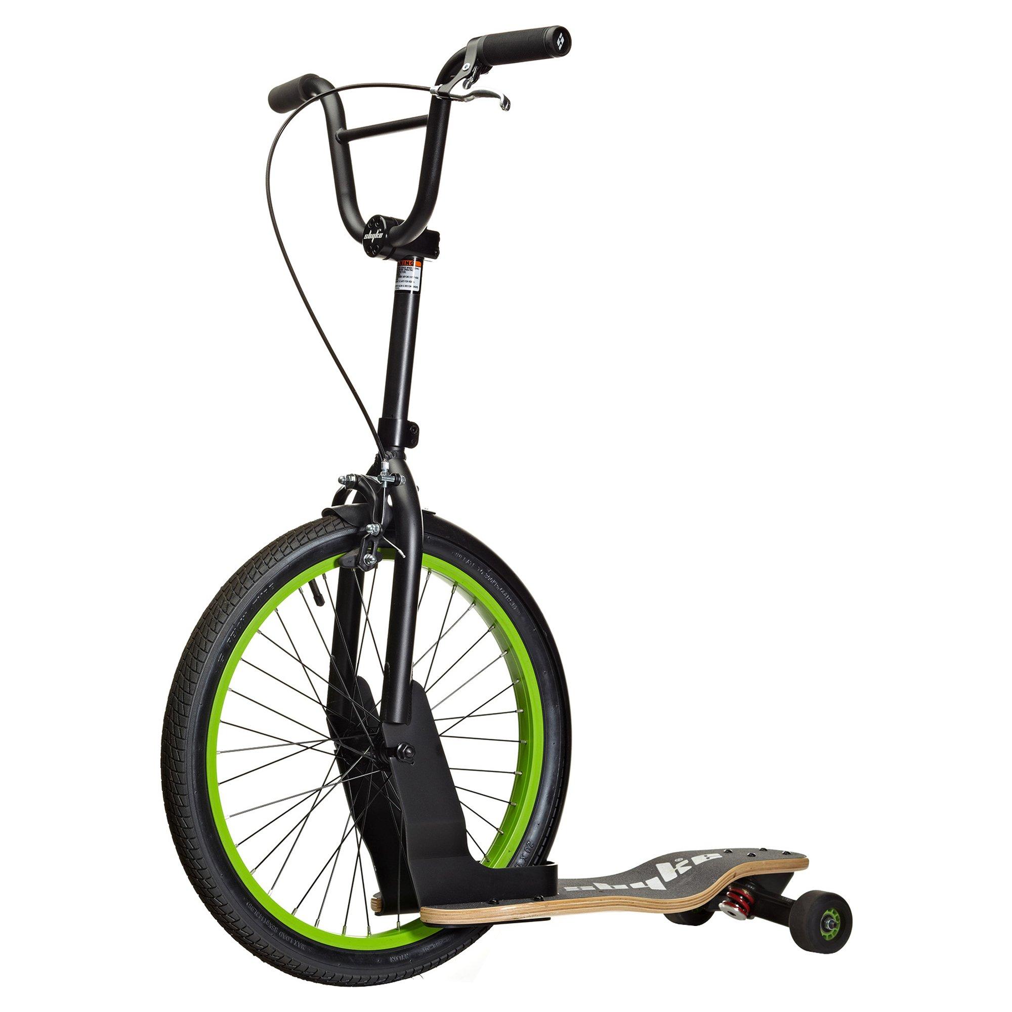 Sbyke Scooter for Kids and Adults: Coasts Like a Bike, Carves Like a Skateboard, patented Rearsteer technology by SBYKE