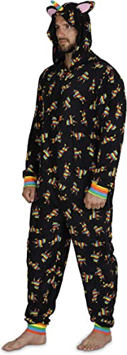 YELTY6F Gay Pride Printed Boys Girls One-Piece Suit Long Sleeve Outfits Black