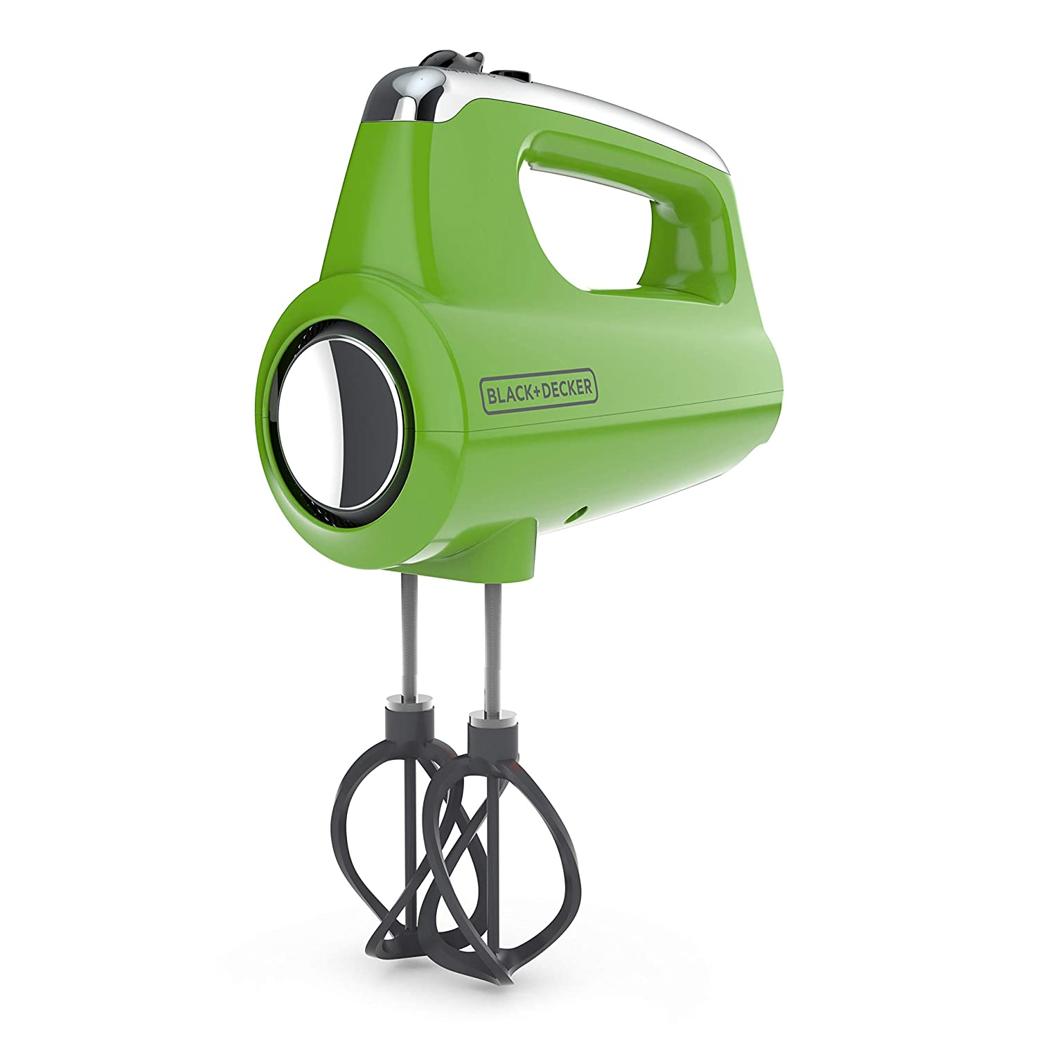 BLACK+DECKER MX600L Helix Performance Premium 5-Speed Hand Mixer Lime Green