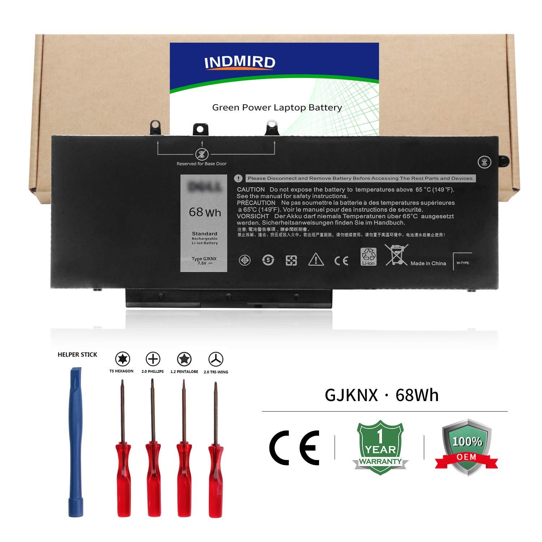 Bateria GJKNX 7.6V 68Wh 8500mAH Dell Latitude E5480 E5490 E5