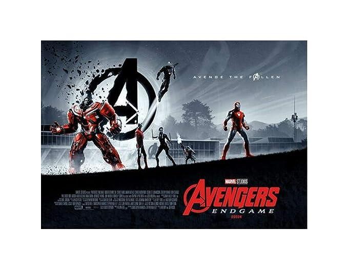 "Avengers End Game Poster Spider Man Marvel Movie Art Print 24x36/"" 27x40/"" 32x48/"""