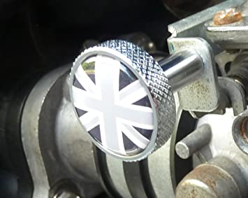 Choke Ckoke Button Aluminium Triumph Scrambler Speedmaster
