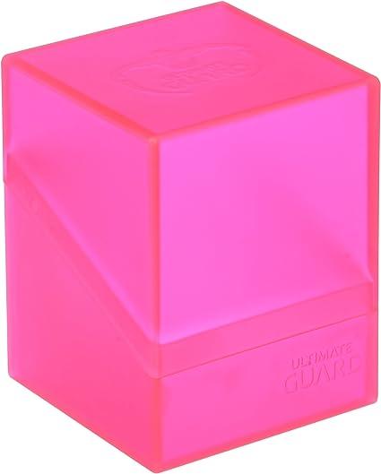 Ultimate Guard Standard Size 100 Plus Deck Case Pink