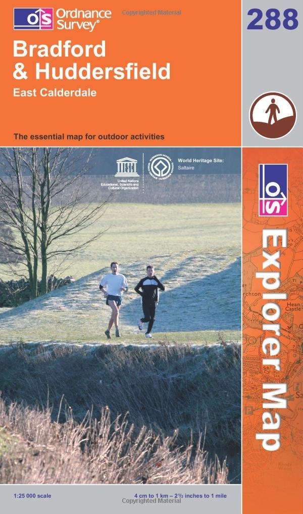 Download Exp 288 Bradford & Huddersfield (Explorer Maps) PDF