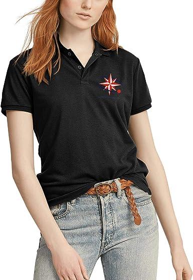 Vintage Irish Shamrock Mens Short Sleeve Polo Shirt Regular Blouse Sport Tee