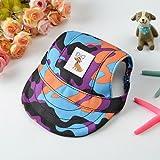 Napoo-Dog Hat Small Pet Dog Canvas Cap Baseball