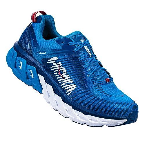 hoka Zapatillas de Running de Material Sintético para Hombre Azul Azul: Amazon.es: Zapatos y complementos