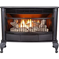 ProCom Ventless Dual Fuel Stove-25,000 BTU, Model QNSD250RT Gas Stove Large Black