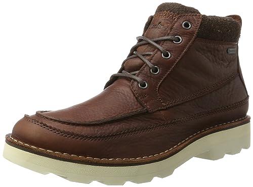 Clarks Men's Korik Rise GTX Classic Boots, Brown (British Tan Lea), 7