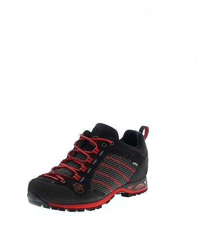 Makra Low GTX, Chaussures DEscalade Homme, Noir (Schwarz), 46.5 EUHanwag