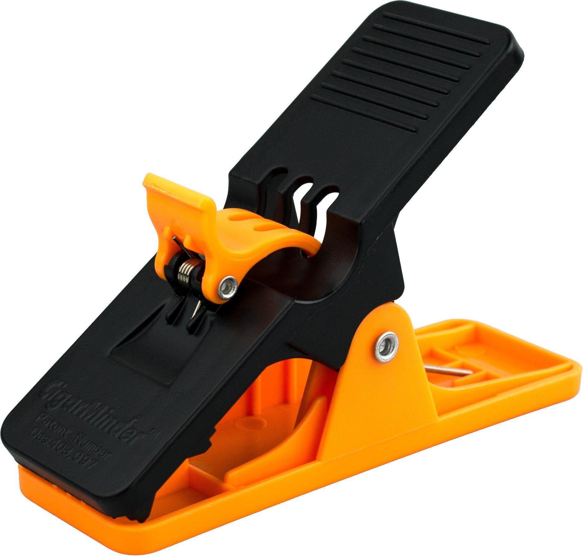 Cigar Minder Clip -  All Purpose Cigar Holder (Orange)
