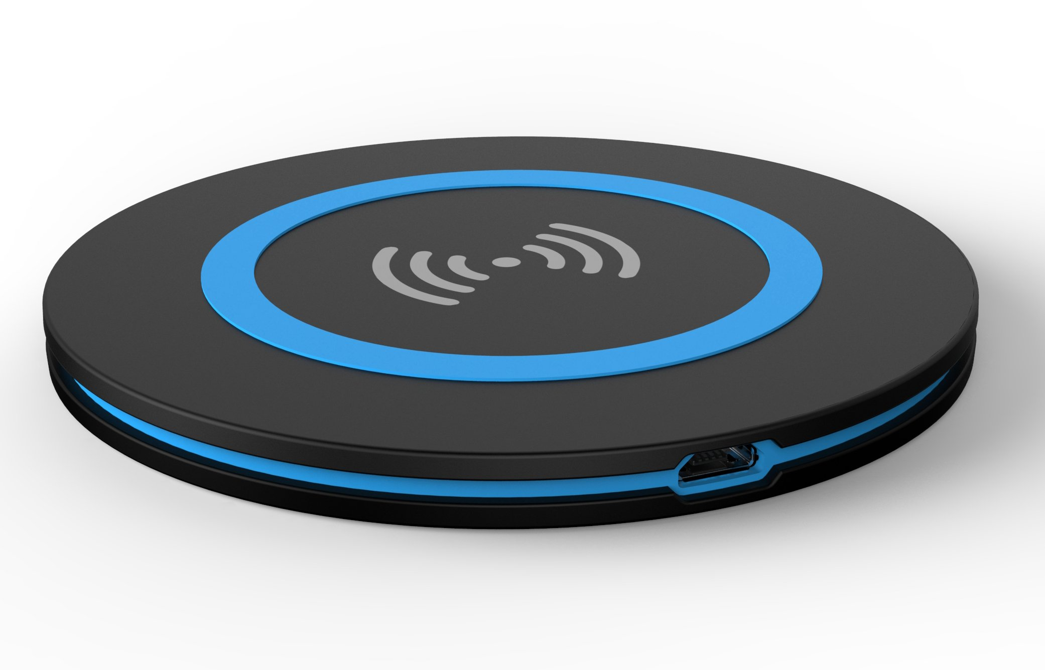 V-CEN WS1 Portable and Thin Wireless Charger Stand for Android, Windows and QI-enabled Devices