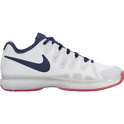 Nike Zoom Vapor 9.5 Tour Size 8 Womens Tennis White/Binary Blue-Pure  Platinum