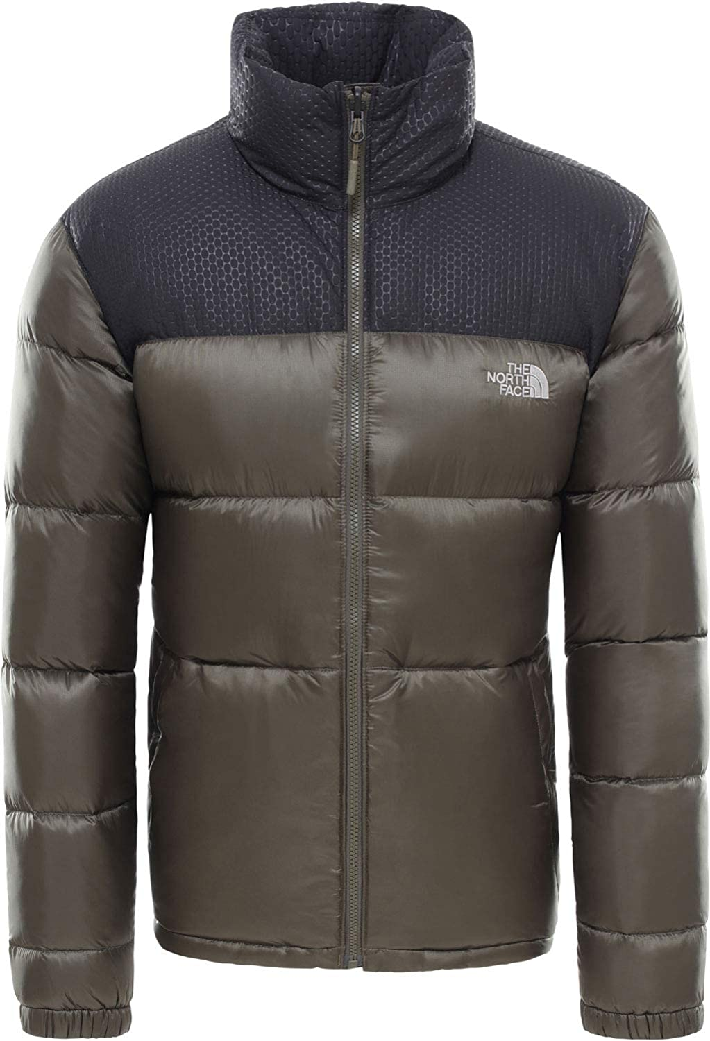 The North Face Herren Nevero Daunenjacke oliv M: