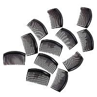 Fenteer 12 Pieces Women Plastic Hair Comb Clip Slide Hairpin Hair Accessories
