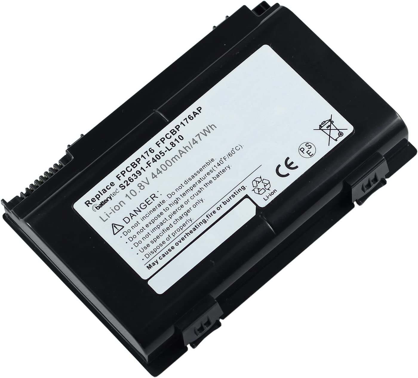 Celsius H700 H710 H910 Mobile Workstation H920 Series; 0644680 CP335276-01 CP335284-01 CP335319-01 FPB0145-01 FPCBP175 Batterytec/® Laptop Battery for FUJITSU LifeBook A1220 A530 A6210 A6220 A6230 AH530 AH550 E780 E8410 E8420 E8420E E8420LA N7010 NH570
