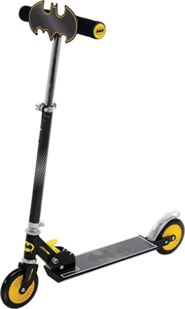 Amazon.com: Batman patinete con placa – Mini Scooter – en ...