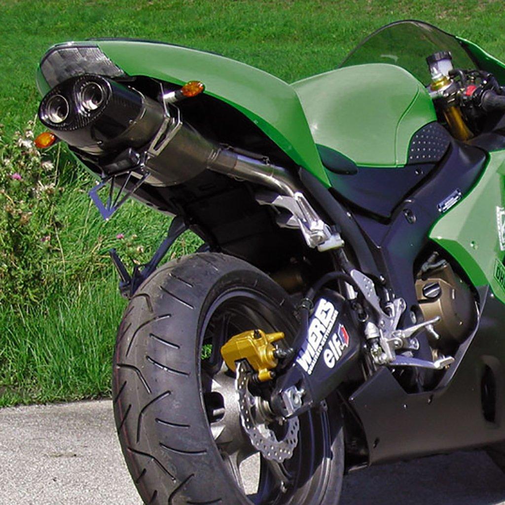 bodis de escape ovalado Q1 Slip-on Titan ZX 6R (636) Ninja ...