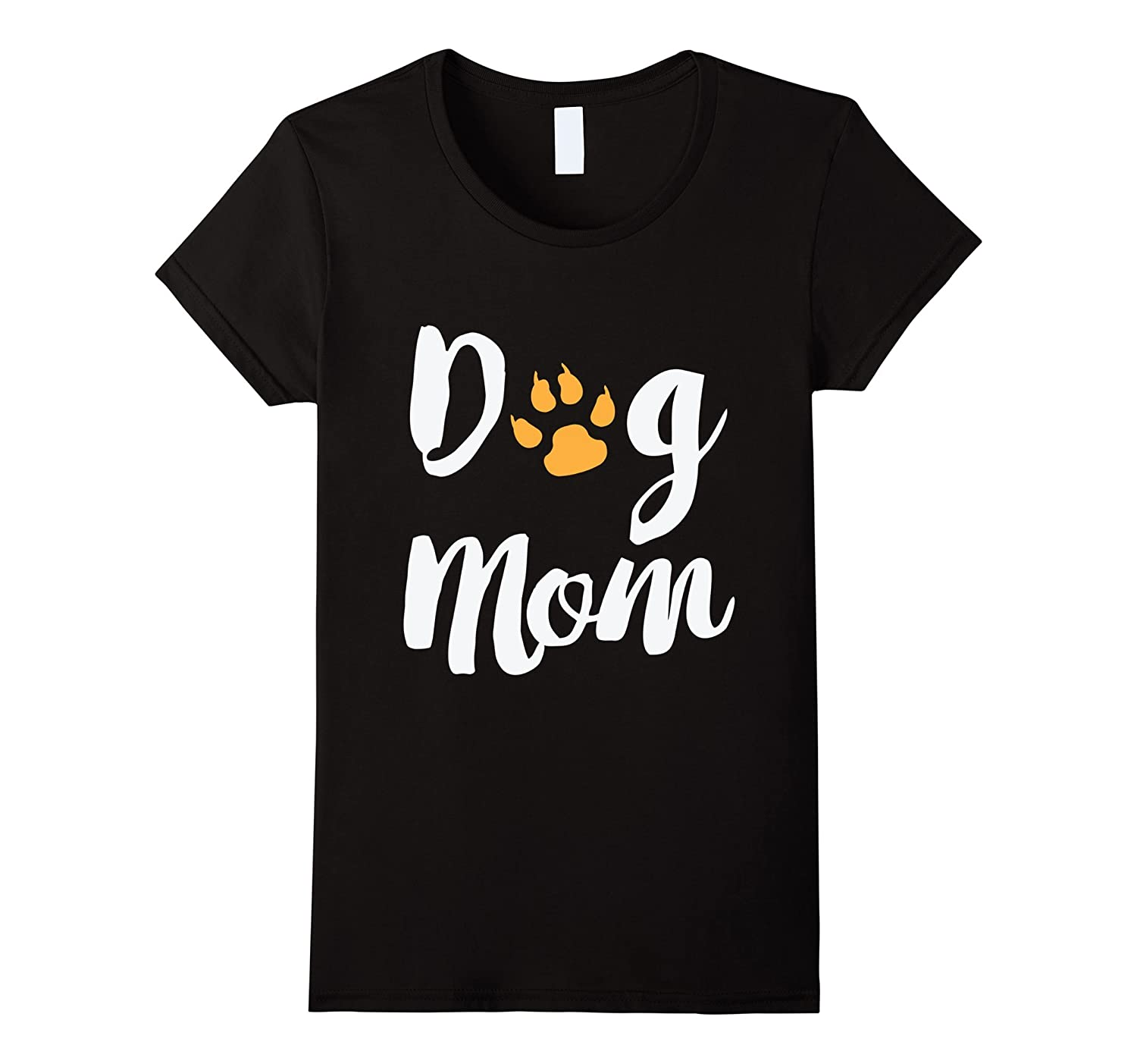 Women's Dog Mom T Shirt-TH