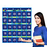 Gamenote Numbered Classroom Pocket Chart for Cell