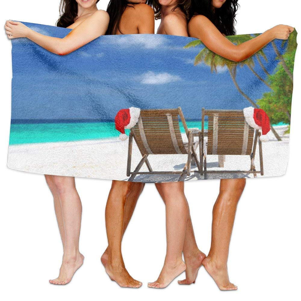 Beach Towel The Mexican Christmas Chairs Great Microfiber Absorbent Solid Pool Towels
