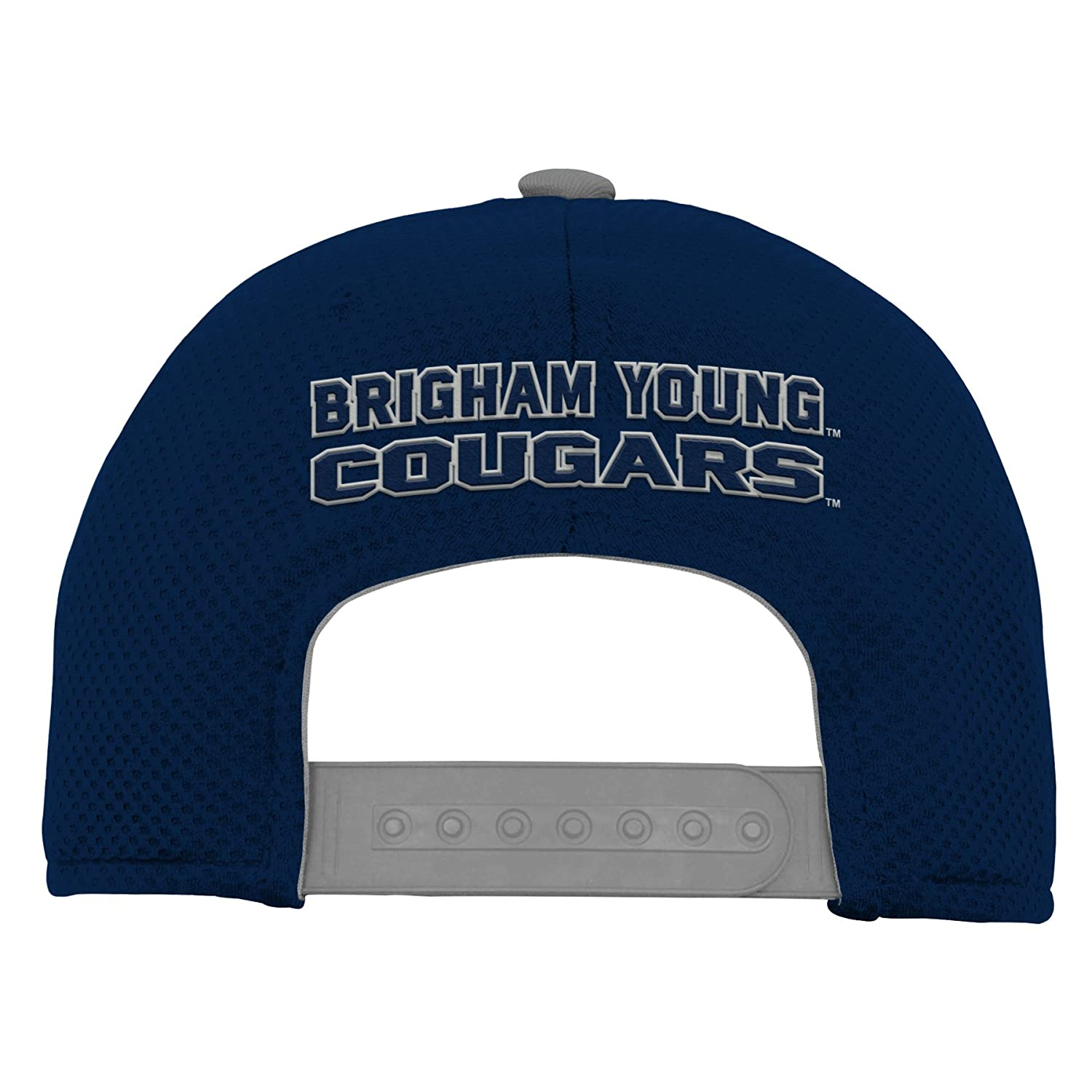 NCAA Byu Cougars Youth Outerstuff Tech Structured Snapback Hat Youth One Size Team Color