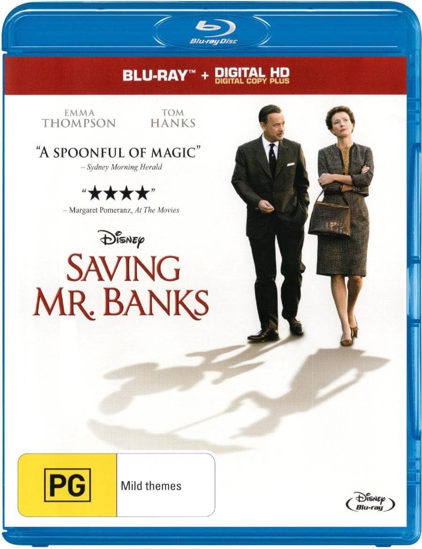 Saving Mr Banks (Blu-ray/DC): Amazon.co.uk: DVD & Blu-ray