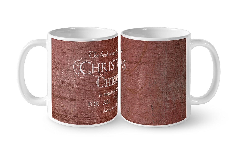 KAVKA DESIGNS Christmas Cheer Coffee Mug 5 x 5 x 5