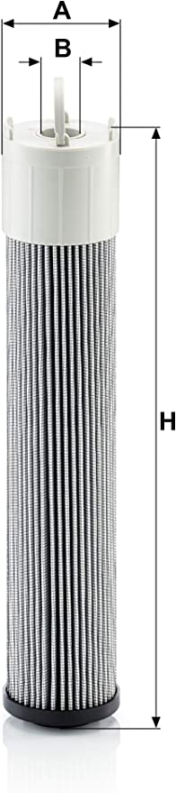Original Mann Filter Hydraulic Filter H 7010 For Industry Land And Construction Machines Auto