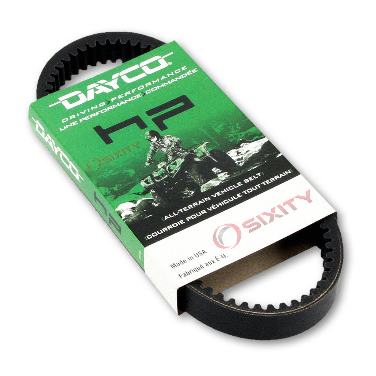 1997-2001 Kawasaki KAF300 Mule 550 Drive Belt Dayco HP ATV OEM Upgrade Replacement Transmission Belts