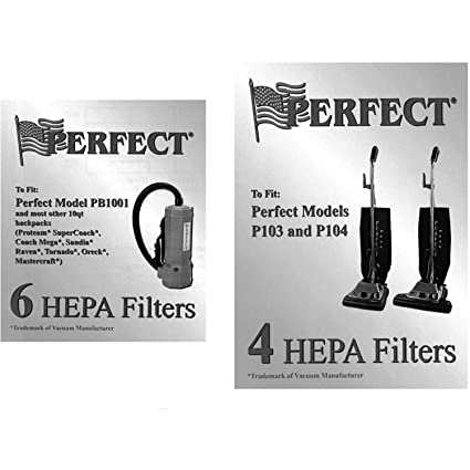 Perfect Products HEPA Filters 4 Pack