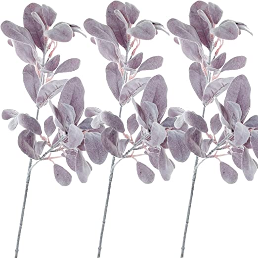 Artificial Rabbit Ear Leaf Plant Fake Flowers Bouquet Xmas Party Home Decoration
