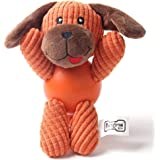 Wuudi-Hundespielzeug Plüsch Sound Haustier,Die spielzeug - Hund ca. 8*6cm