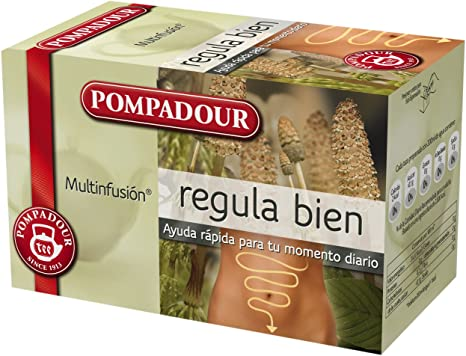 Pompadour Regula Bien - Pack de 5 (Total: 100 bolsitas): Amazon.es ...