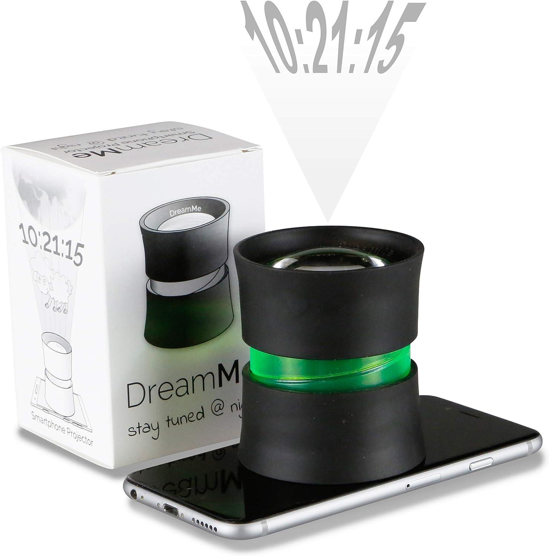 DreamMe Proyección Reloj Despertador Smartphone lámpara de Gadget ...