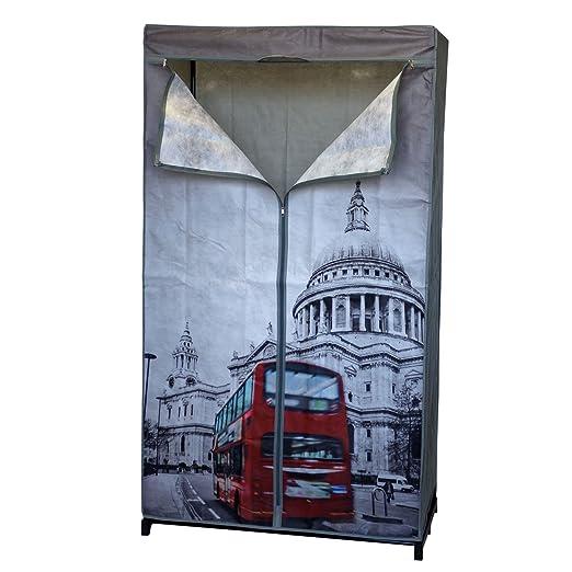 Plegable London 87 x 45 x h156 cm con perchero camping ...