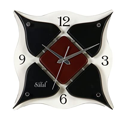 Buy Safal Wooden Wall Clock 3048 Cm X 3048 Cm Sq 1053 Online At