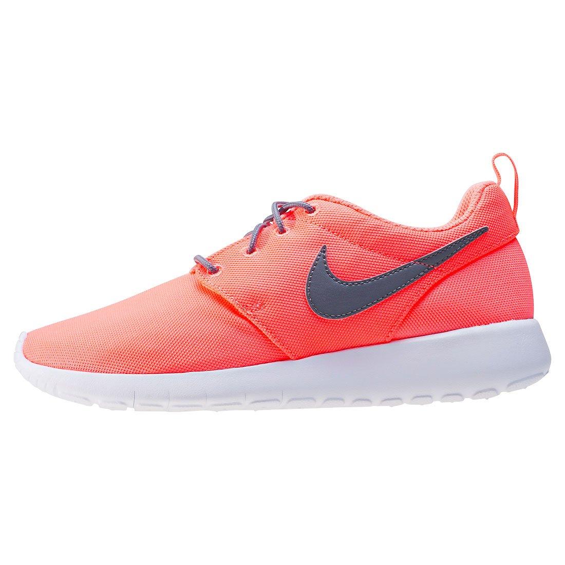 more photos f2ba2 8b17a Amazon.com   Nike - Roshe One GS - 599729612 - Color  Black-Orange - Size   5.5   Running