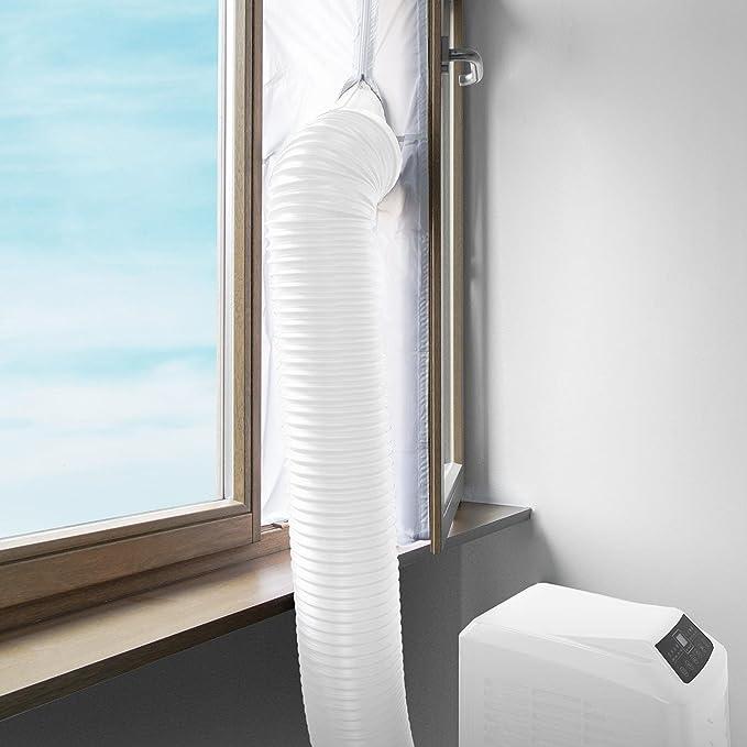 Klarstein Cubierta de ventana para aparatos de aire acondicionado ...