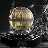 Star Wars Death Star Levitating Bluetooth Speaker, hellosy Portable Floating Wireless Speaker , 360 Degree Rotation, Built-in Microphone (Gray)+Star Wars Mouse Pad