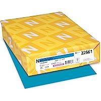 "Astrobrights Color Paper, 8.5"" x 11"", 24 lb/89 GSM, Celestial Blue, 500 Sheets (22661)"
