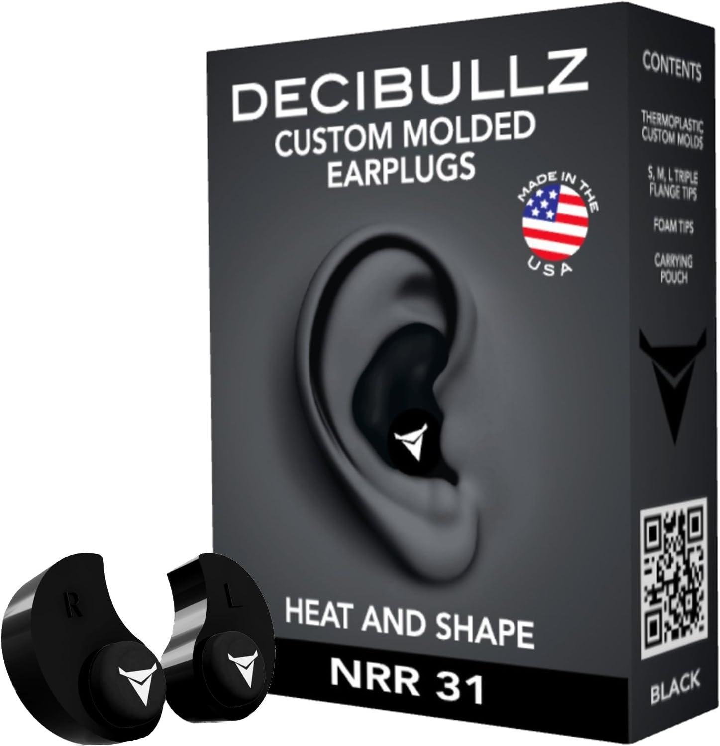 The Decibullz Custom Molded Earplugs travel product recommended by Amanda Evertz on Lifney.