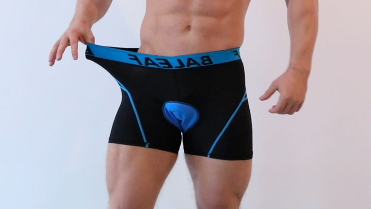 BALEAF Men's Bike Cycling Underwear Shorts 3D Padded Bicycle MTB Liner Shorts