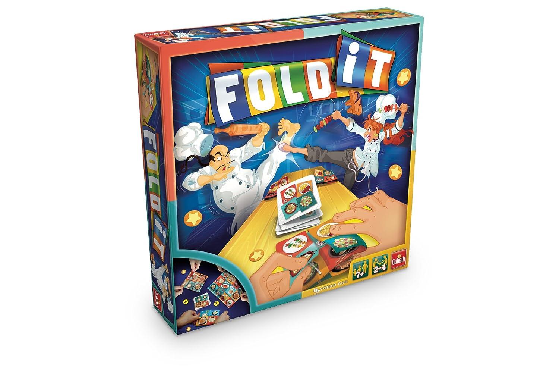 Goliath 70021 - Fold-it Spiel Goliath Toys Spielen / Raten empfohlenes Alter: ab 7 Jahre Hobbys