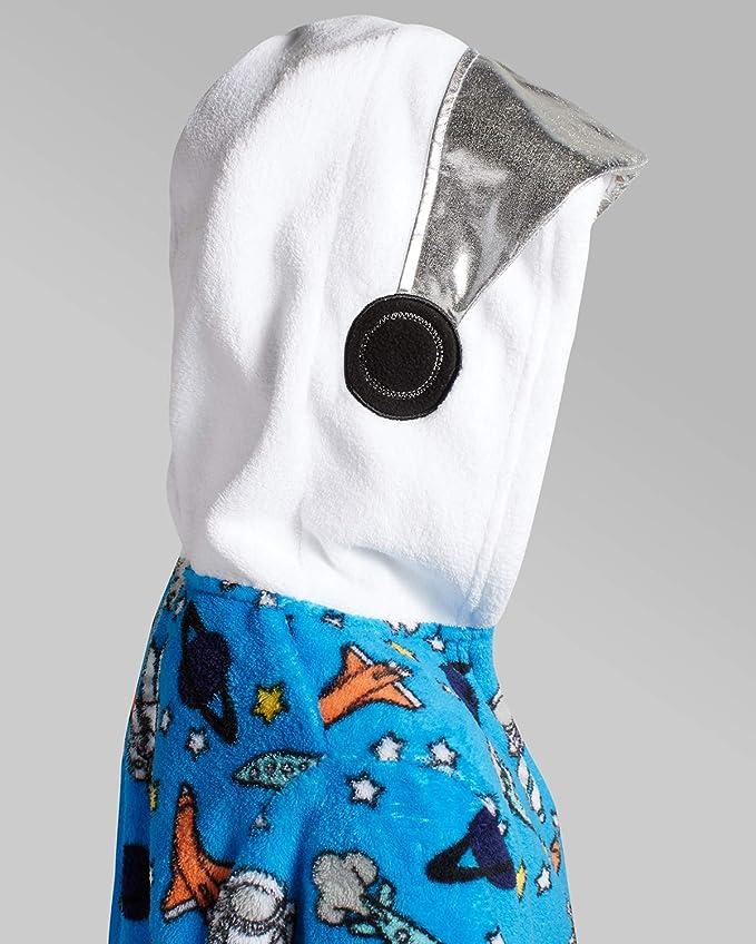 Too Cool 2 Sleep Boys Plush Fleece Belted Robe with Character Hood