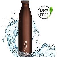 720°DGREE Edelstahl Trinkflasche milkyBottle – 350ml, 500ml, 750ml, 1000ml | Premium Isolierflasche, Auslaufsicher